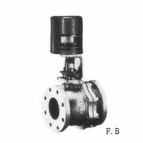 Cast iron ball valve