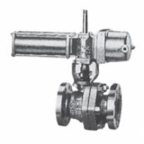 Double piece stainless steel ball valve method